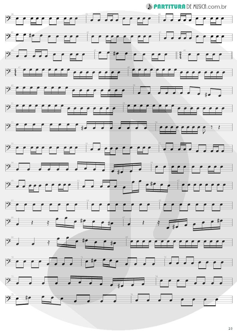 Partitura de musica de Baixo Elétrico - Future World | Helloween | Keeper Of The Seven Keys Pt 1 1987 - pag 2
