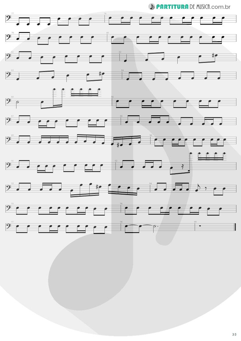 Partitura de musica de Baixo Elétrico - Future World | Helloween | Keeper Of The Seven Keys Pt 1 1987 - pag 3