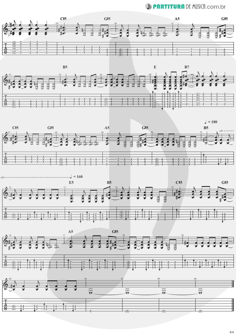 Tablatura + Partitura de musica de Violão - Moonshine   Jack Johnson   Thicker Than Water 2003 - pag 4