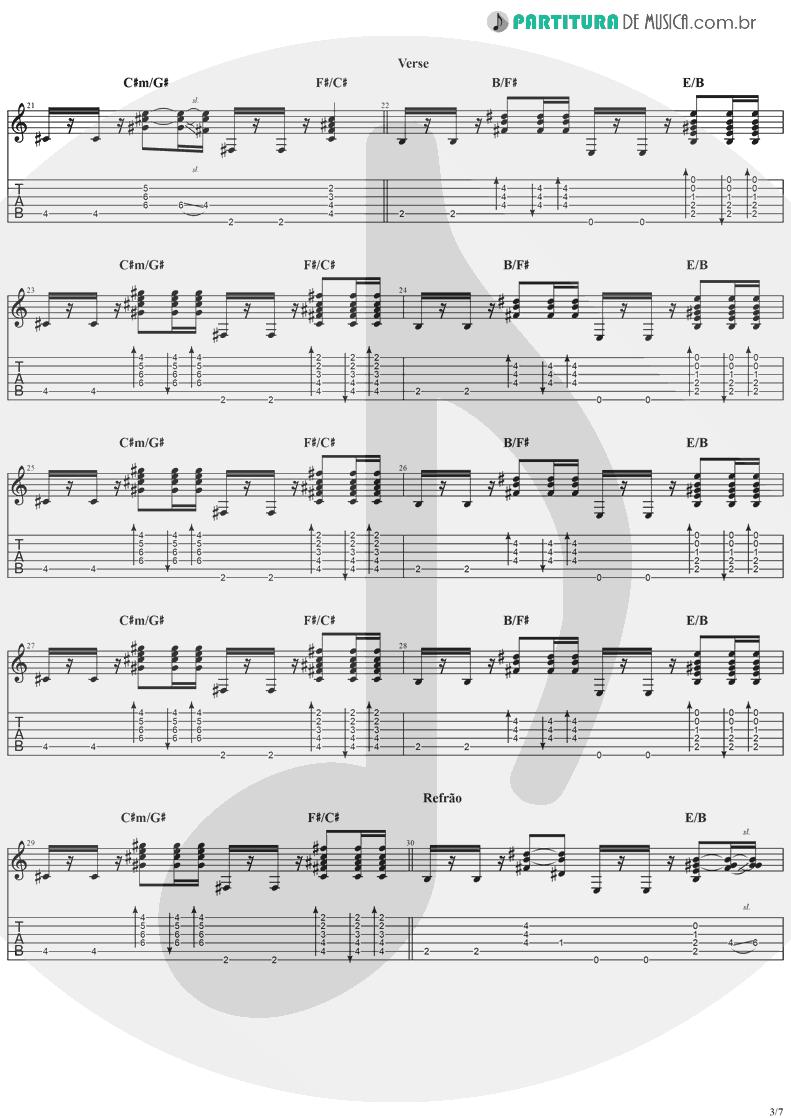 Tablatura + Partitura de musica de Violão - Good People | Jack Johnson | In Between Dreams 2005 - pag 3