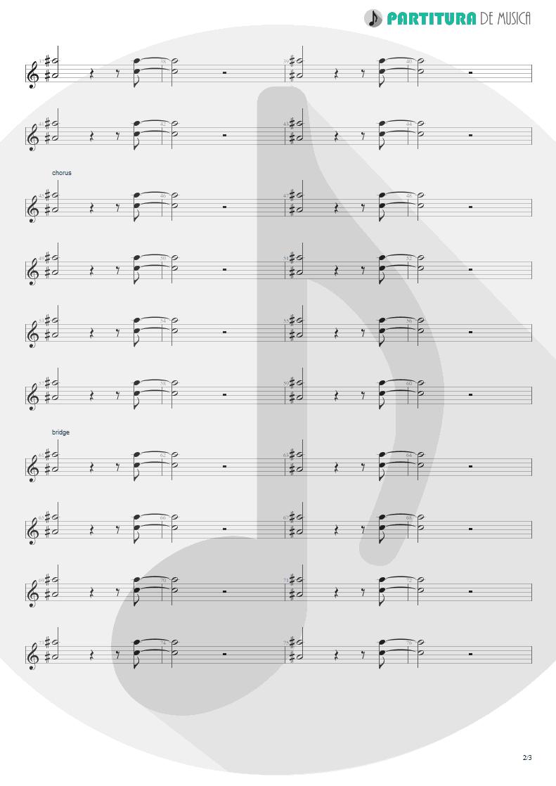 Partitura de musica de Teclado - Little L | Jamiroquai | A Funk Odyssey 2001 - pag 2