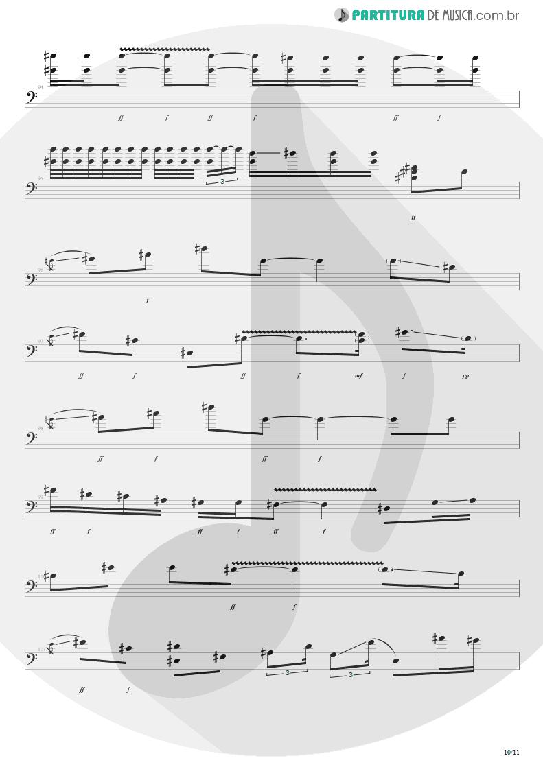 Partitura de musica de Baixo Elétrico - Purple Haze | Jimi Hendrix | Live at the Royal Albert Hall 1969 - pag 10