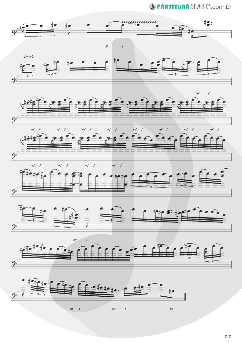 Partitura de musica de Baixo Elétrico - Purple Haze | Jimi Hendrix | Live at the Royal Albert Hall 1969 - pag 11