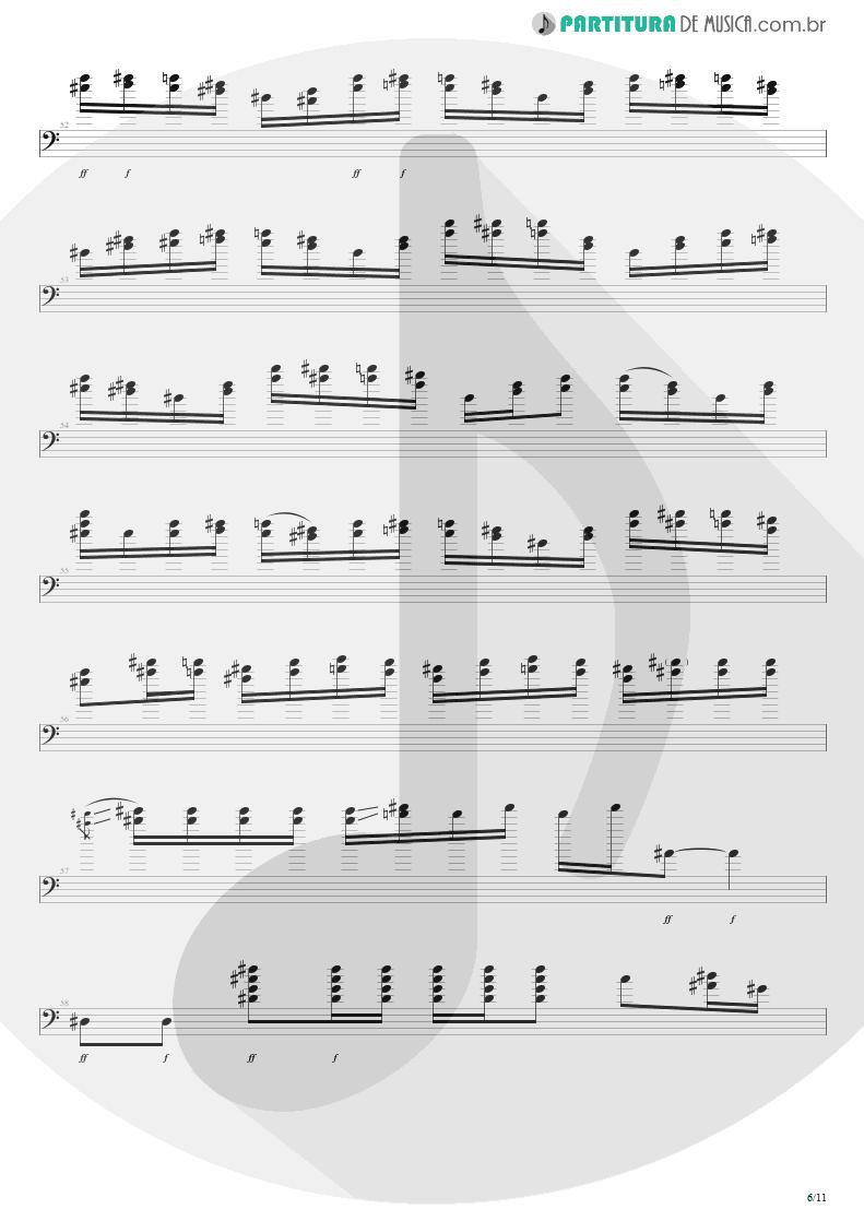 Partitura de musica de Baixo Elétrico - Purple Haze | Jimi Hendrix | Live at the Royal Albert Hall 1969 - pag 6