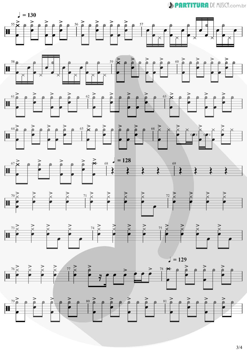 Partitura de musica de Bateria - Are You Gonna Go My Way | Lenny Kravitz | Are You Gonna Go My Way 1993 - pag 3