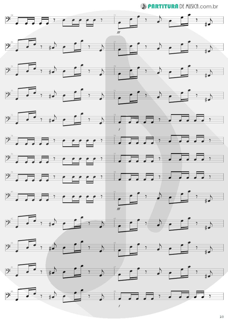 Partitura de musica de Baixo Elétrico - Fly Away | Lenny Kravitz | 5 1998 - pag 2
