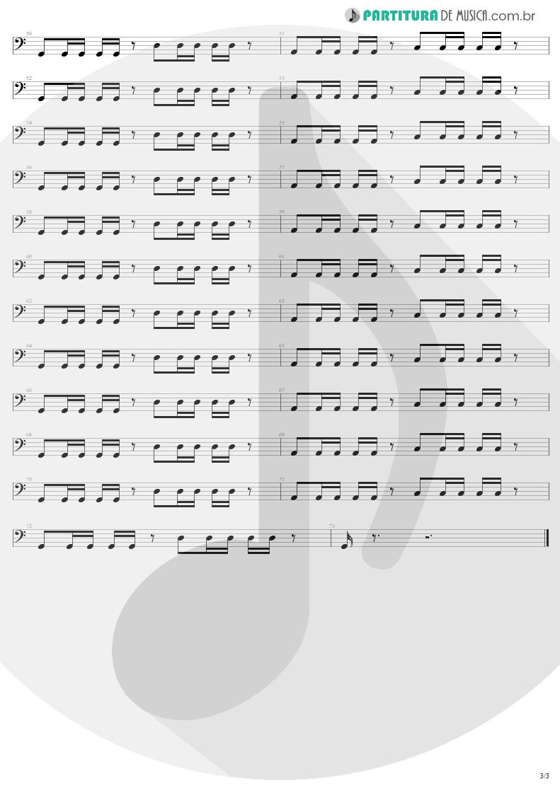 Partitura de musica de Baixo Elétrico - Fly Away | Lenny Kravitz | 5 1998 - pag 3