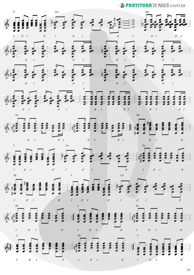 Partitura de musica de Guitarra Elétrica - Stillness Of Heart | Lenny Kravitz | Lenny 2001 - pag 2