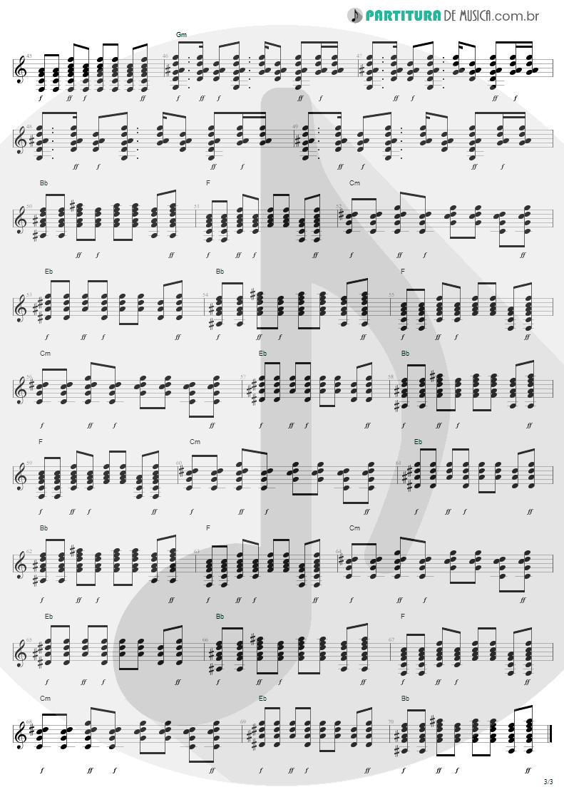 Partitura de musica de Guitarra Elétrica - Stillness Of Heart | Lenny Kravitz | Lenny 2001 - pag 3