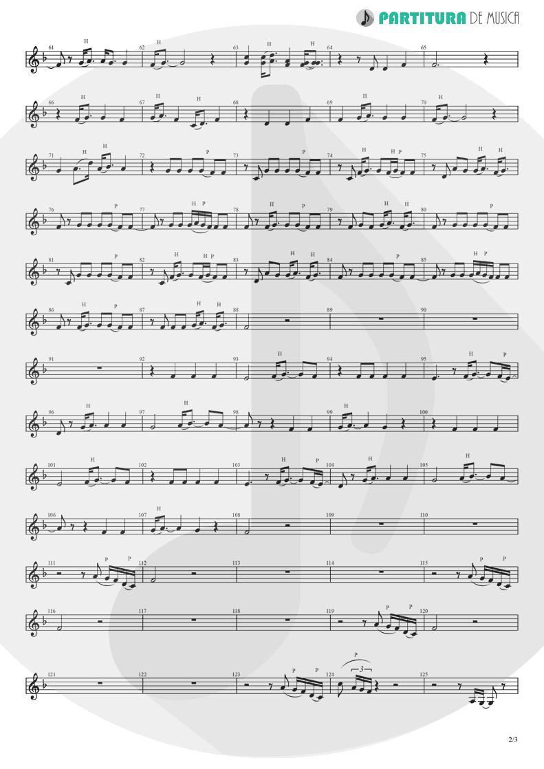 Partitura de musica de Canto - Like A Prayer   Madonna   Like a Prayer 1989 - pag 2