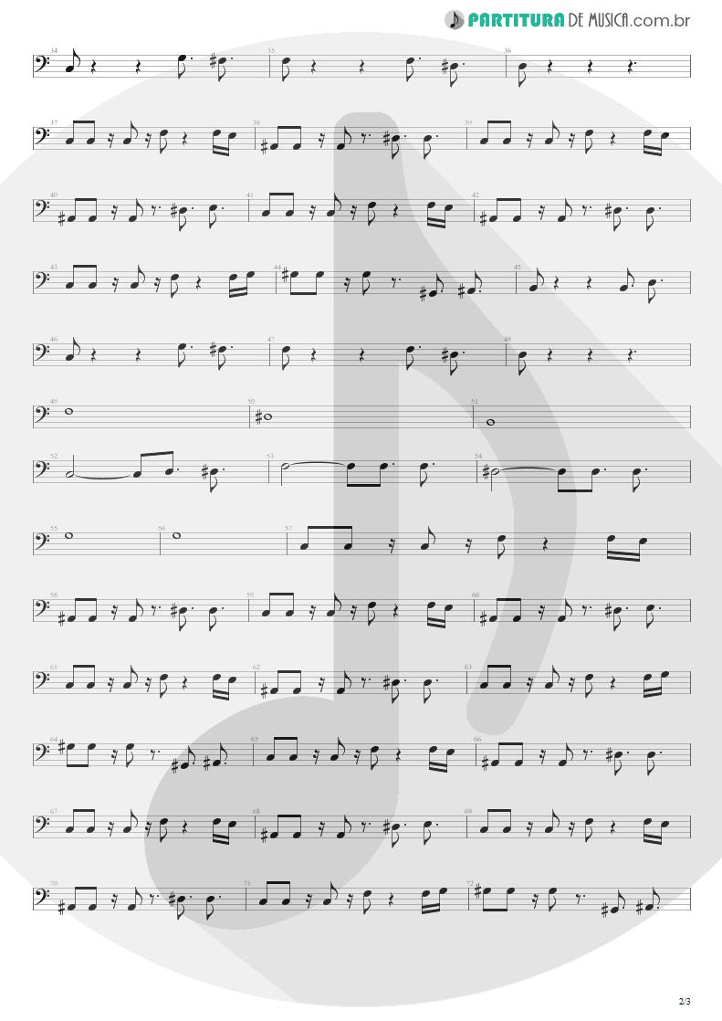 Partitura de musica de Baixo Elétrico - This Love   Maroon 5   Songs About Jane 2002 - pag 2