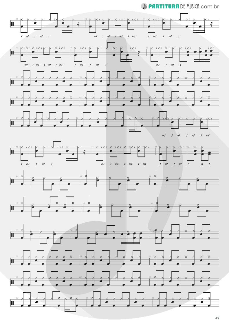 Partitura de musica de Bateria - This Love   Maroon 5   Songs About Jane 2002 - pag 2