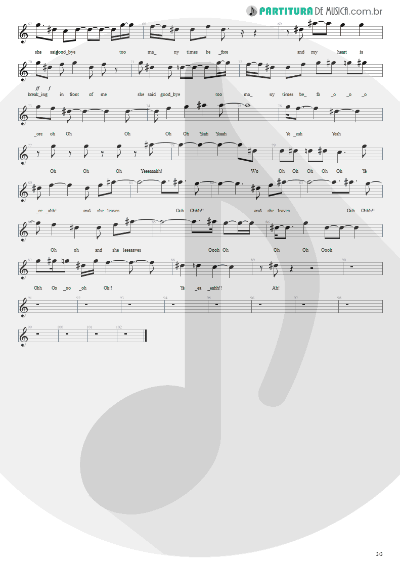 Partitura de musica de Canto - This Love   Maroon 5   Songs About Jane 2002 - pag 3
