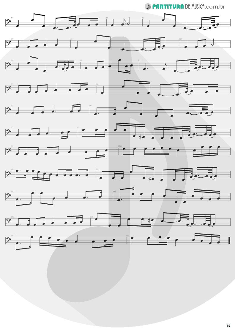 Partitura de musica de Baixo Elétrico - The Unforgiven | Metallica | Metallica 1991 - pag 3
