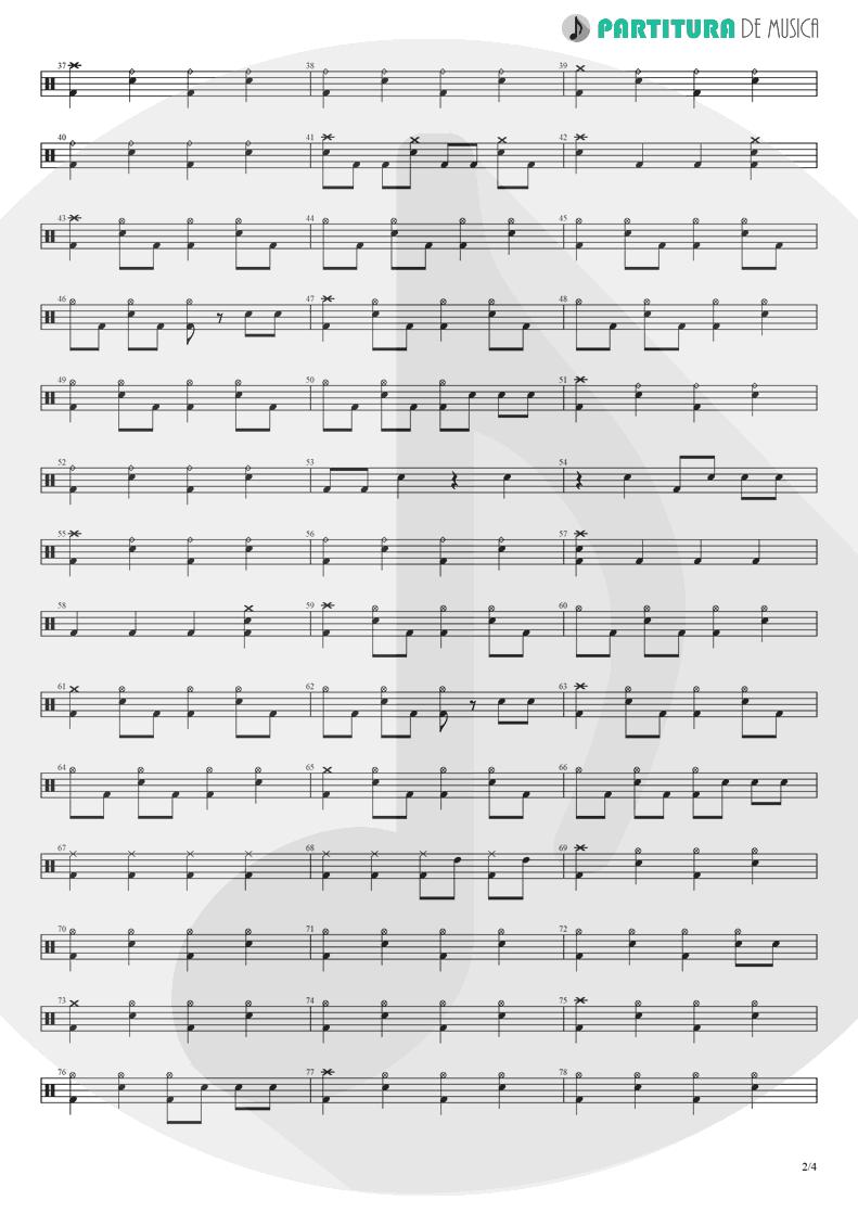 Partitura de musica de Bateria - Yumemiru Shoujo Ja Irarenai | Nanase Aikawa | Red 1996 - pag 2