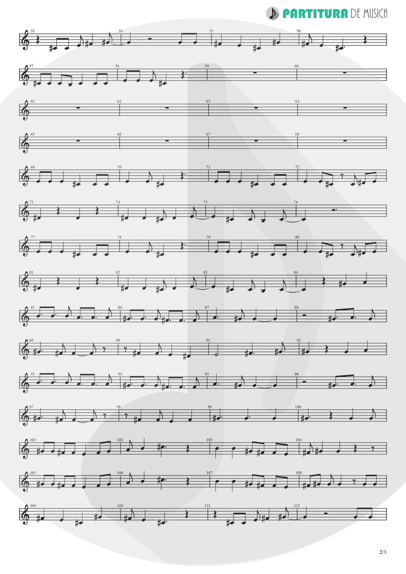 Partitura de musica de Teclado - Yumemiru Shoujo Ja Irarenai | Nanase Aikawa | Red 1996 - pag 2