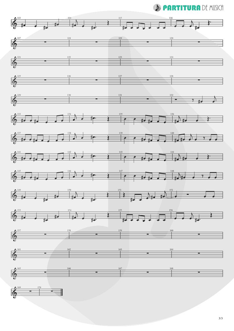 Partitura de musica de Teclado - Yumemiru Shoujo Ja Irarenai | Nanase Aikawa | Red 1996 - pag 3