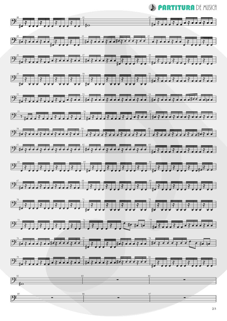 Partitura de musica de Baixo Elétrico - Koigokoro | Nanase Aikawa | Paradox 1997 - pag 2