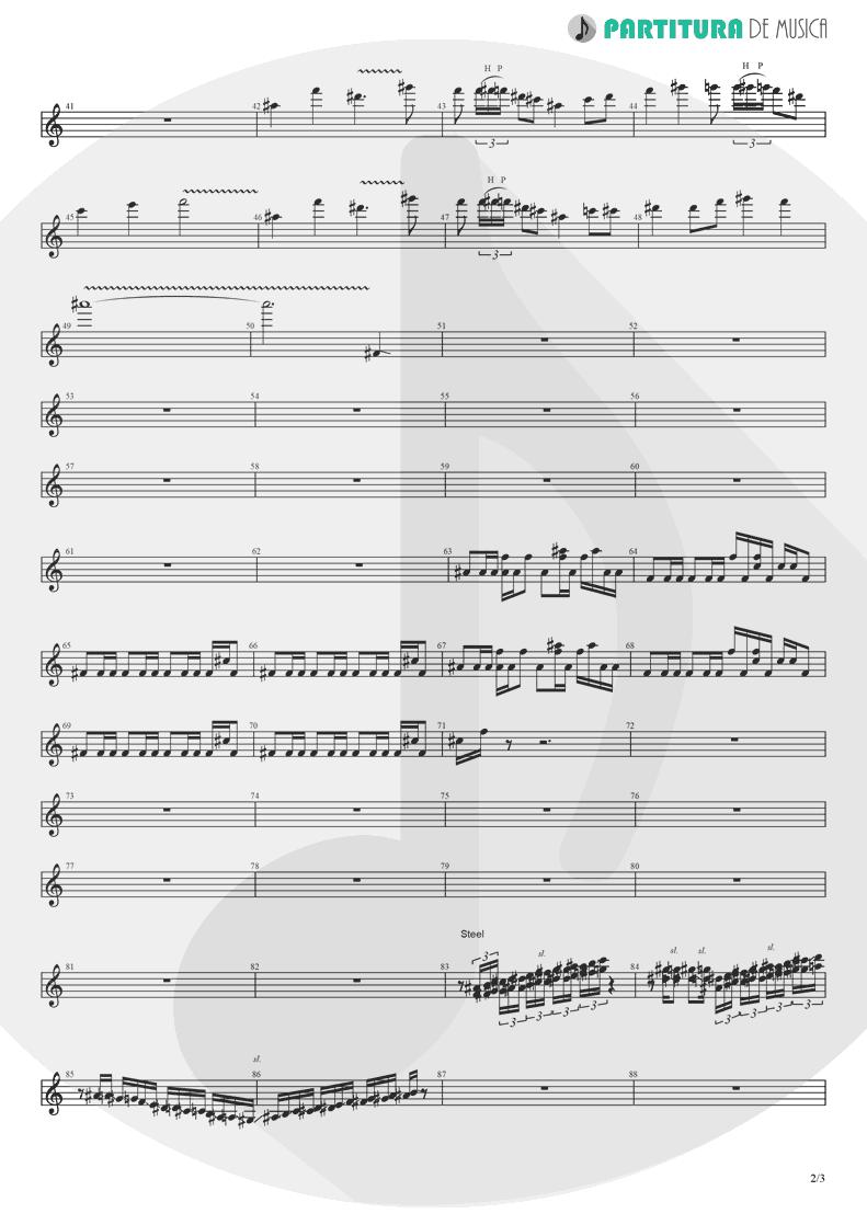 Partitura de musica de Guitarra Elétrica - Koigokoro | Nanase Aikawa | Paradox 1997 - pag 2