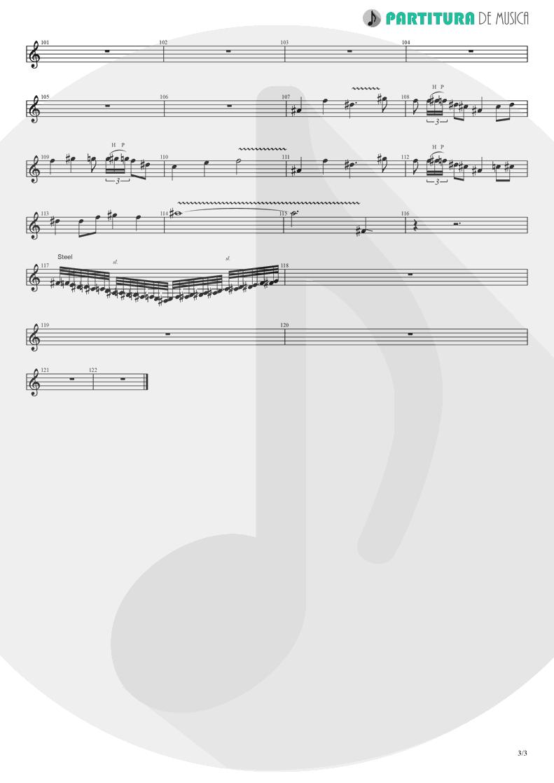 Partitura de musica de Guitarra Elétrica - Koigokoro   Nanase Aikawa   Paradox 1997 - pag 3