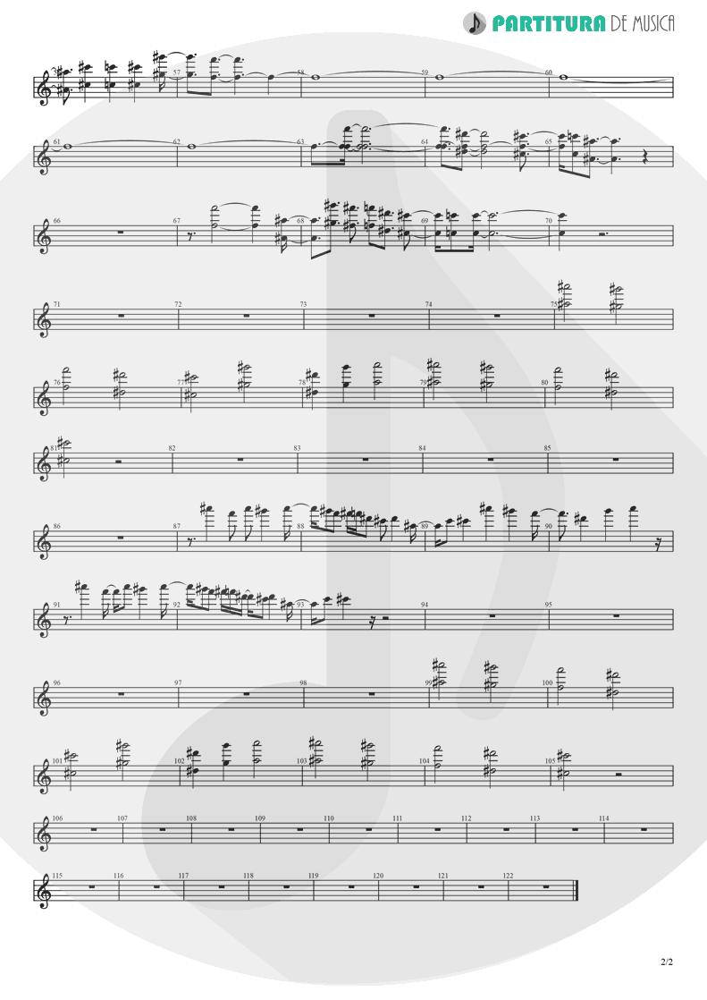 Partitura de musica de Piano - Koigokoro | Nanase Aikawa | Paradox 1997 - pag 2