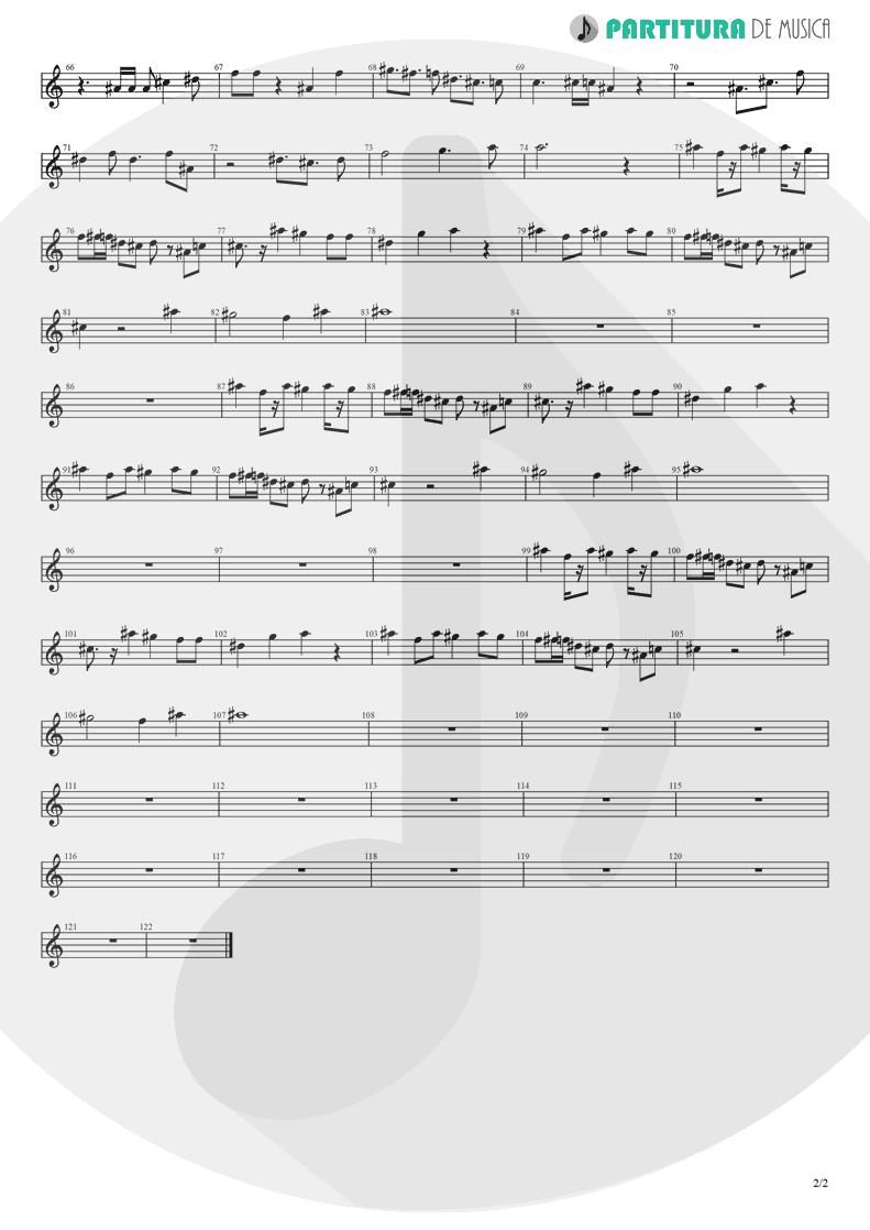 Partitura de musica de Teclado - Koigokoro | Nanase Aikawa | Paradox 1997 - pag 2