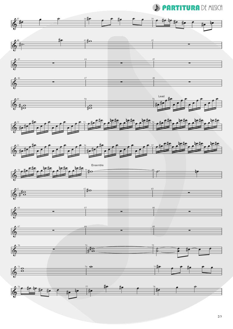Partitura de musica de Violino - Koigokoro | Nanase Aikawa | Paradox 1997 - pag 2