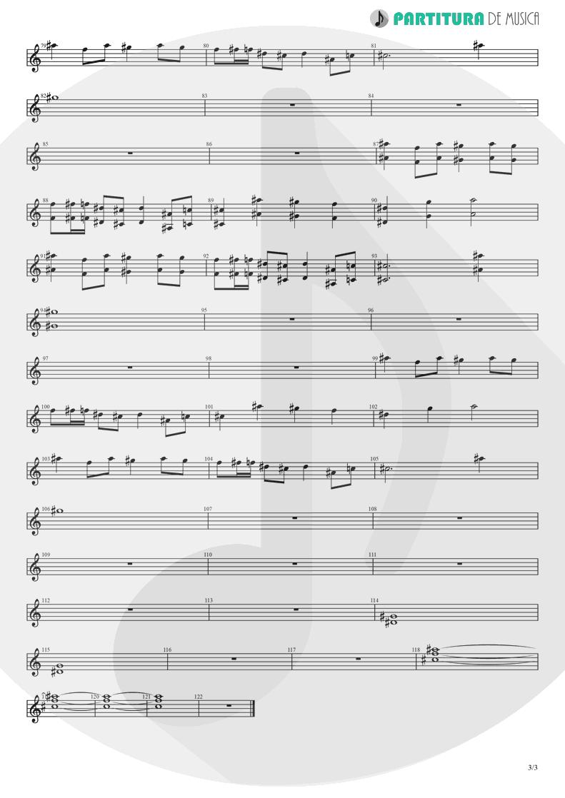 Partitura de musica de Violino - Koigokoro | Nanase Aikawa | Paradox 1997 - pag 3