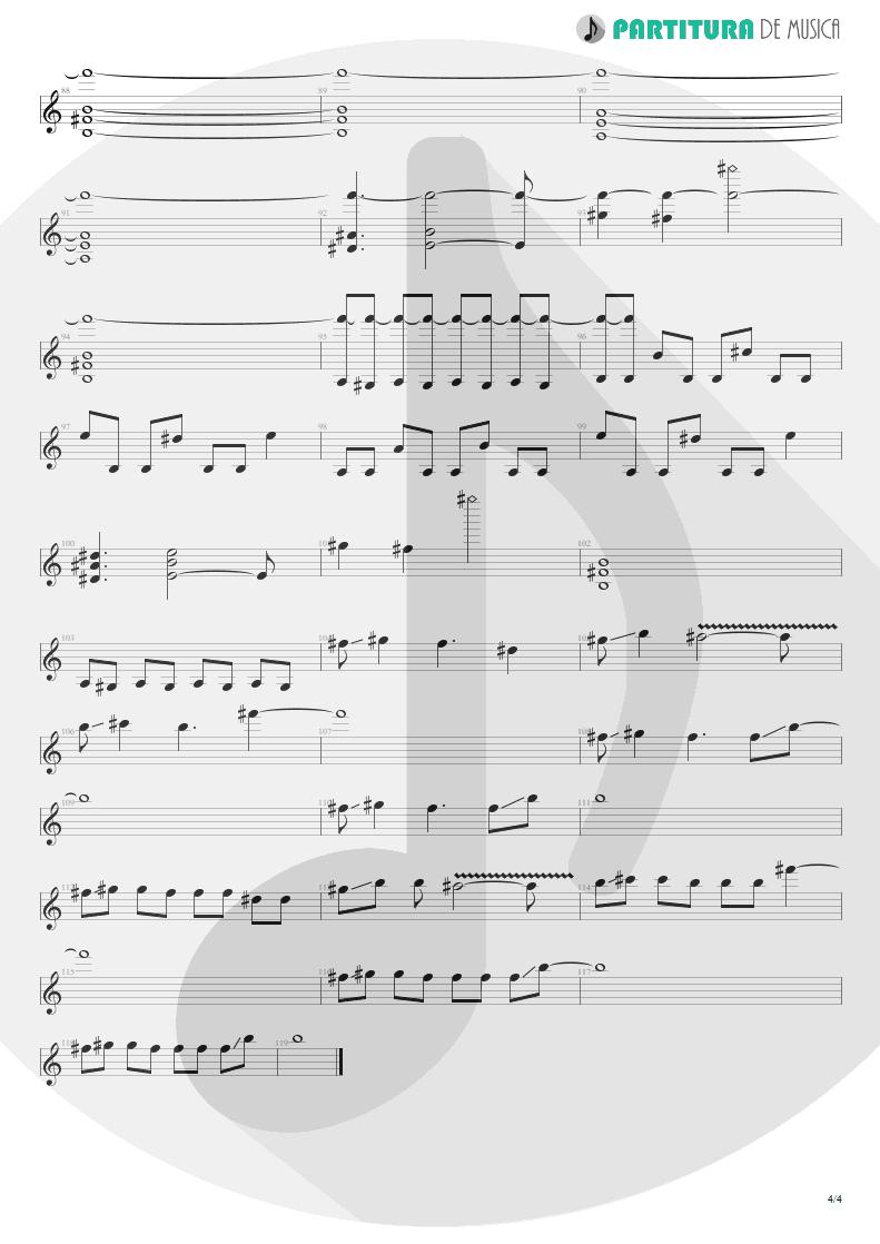 Partitura de musica de Guitarra Elétrica - Mais Que Vencedores | Oficina G3 | Nada é Tão Novo, Nada é Tão Velho 1993 - pag 4