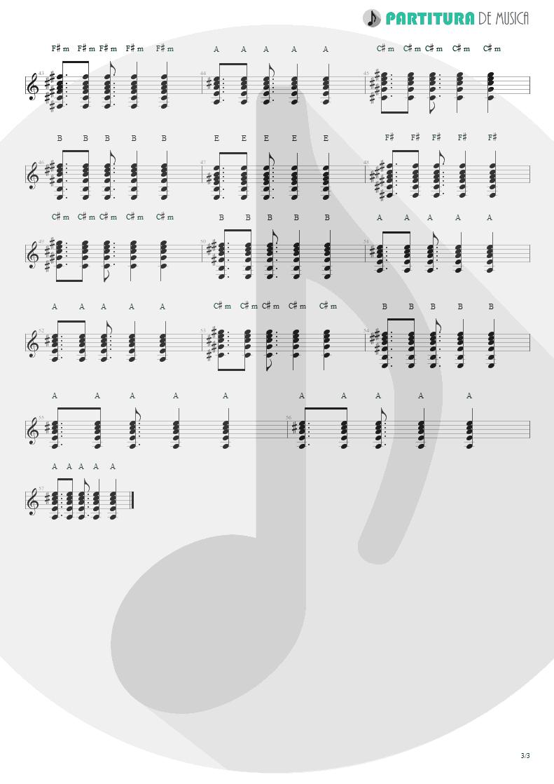 Partitura de musica de Violão - A Deus | Oficina G3 | Elektracustika 2007 - pag 3