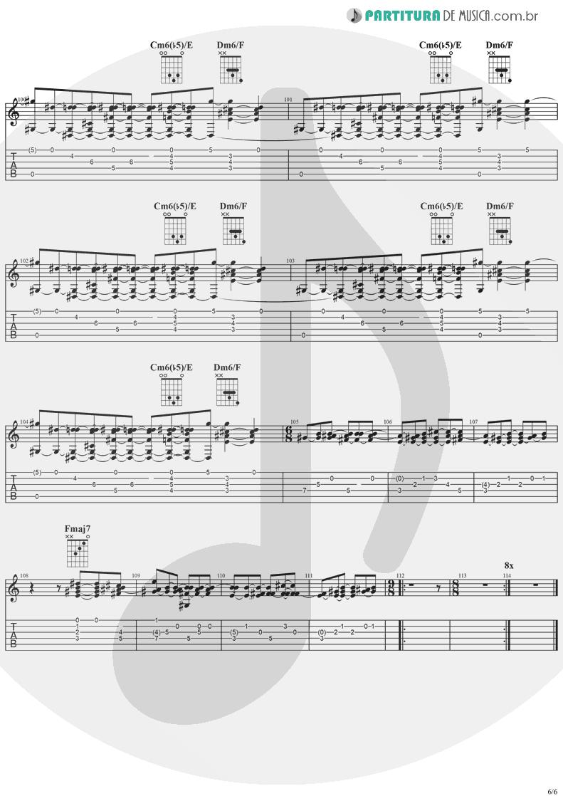 Tablatura + Partitura de musica de Guitarra Elétrica - Diary Of A Madman | Ozzy Osbourne | Diary Of A Madman 1981 - pag 6