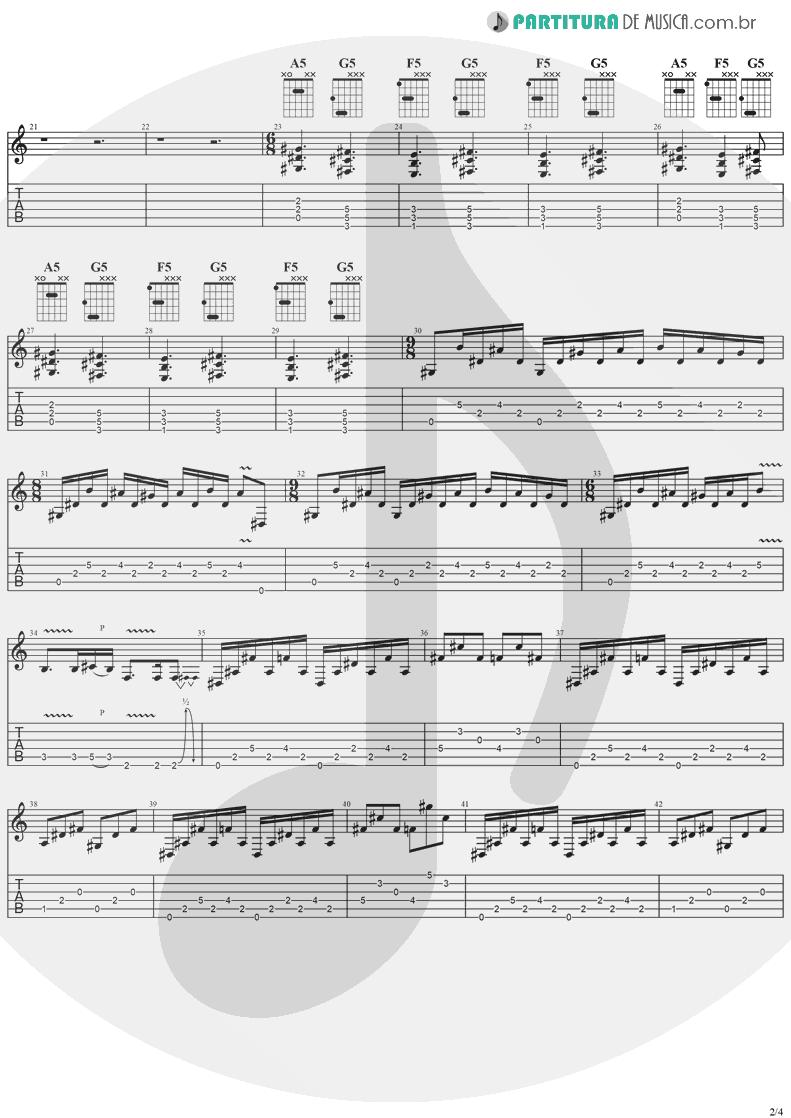 Tablatura + Partitura de musica de Guitarra Elétrica - Diary Of A Madman | Ozzy Osbourne | Diary Of A Madman 1981 - pag 2