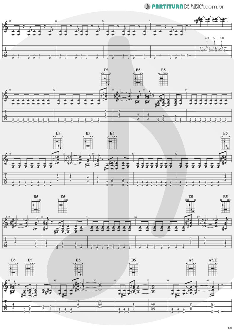 Tablatura + Partitura de musica de Guitarra Elétrica - Desire   Ozzy Osbourne   No More Tears 1991 - pag 4