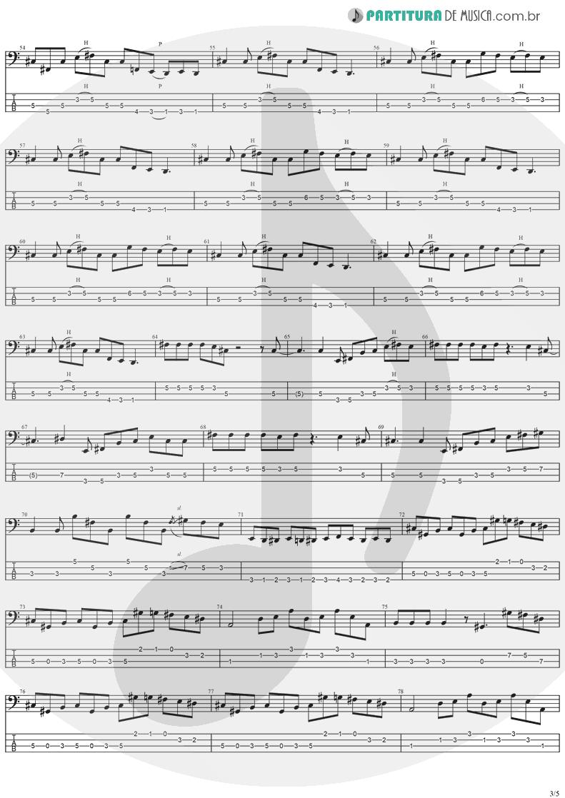 Tablatura + Partitura de musica de Baixo Elétrico - Perry Mason | Ozzy Osbourne | Ozzmosis 1995 - pag 3