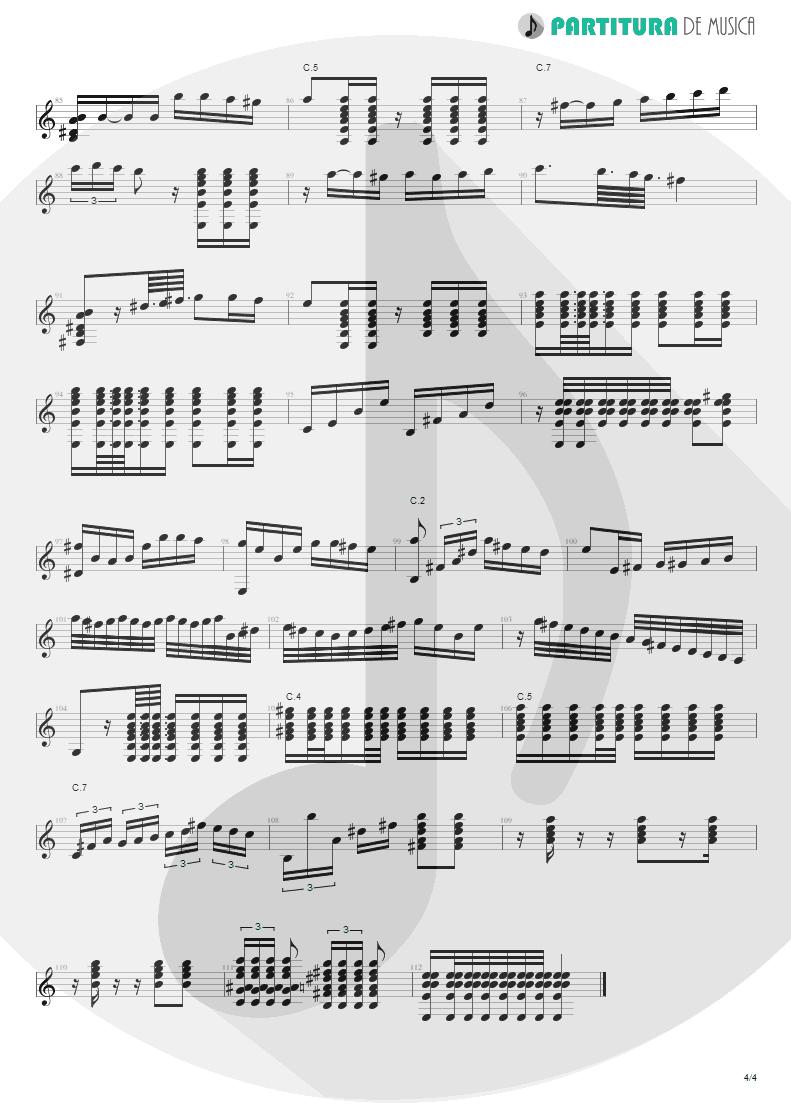 Partitura de musica de Violão - El Inclusero   Paco de Lucía   Canciones Andaluzas Para 2 Guitarras 1967 - pag 4
