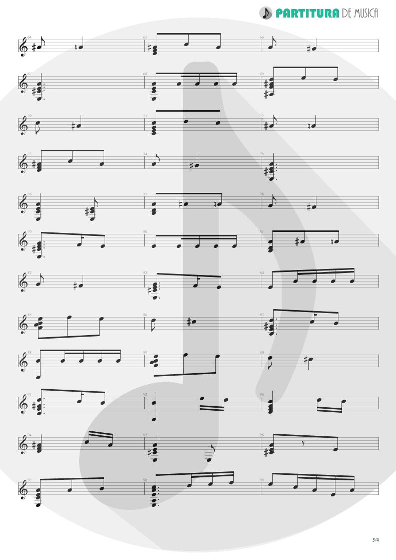 Partitura de musica de Violão - El Tempul | Paco de Lucía | Fantasía flamenca de Paco de Lucía 1969 - pag 3