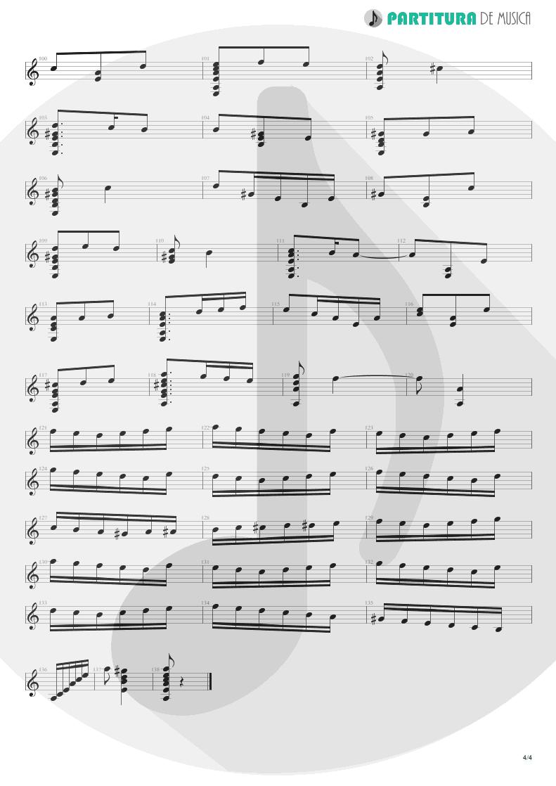 Partitura de musica de Violão - El Tempul | Paco de Lucía | Fantasía flamenca de Paco de Lucía 1969 - pag 4