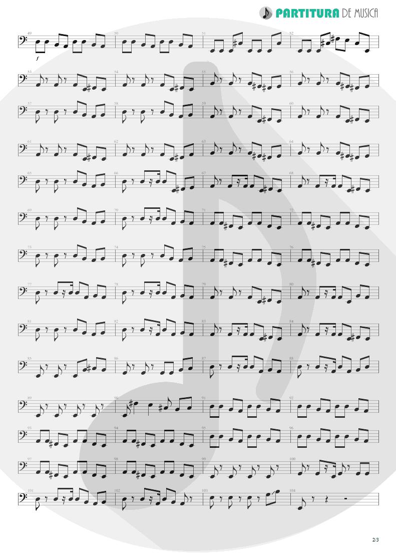 Partitura de musica de Baixo Elétrico - A Kind Of Magic | Queen | A Kind of Magic 1986 - pag 2