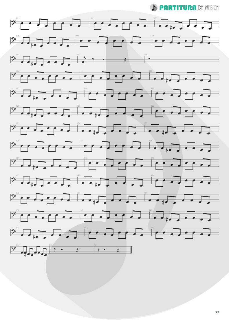 Partitura de musica de Baixo Elétrico - A Kind Of Magic | Queen | A Kind of Magic 1986 - pag 3