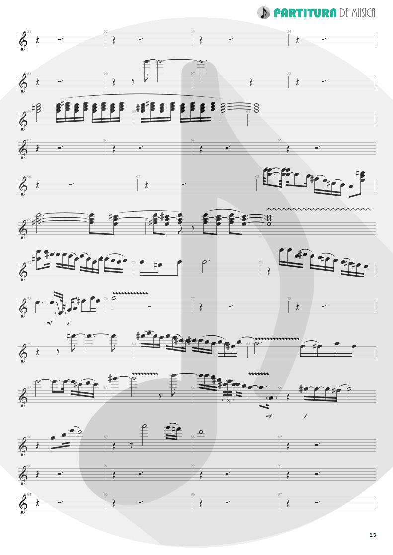 Partitura de musica de Guitarra Elétrica - A Kind Of Magic | Queen | A Kind of Magic 1986 - pag 2