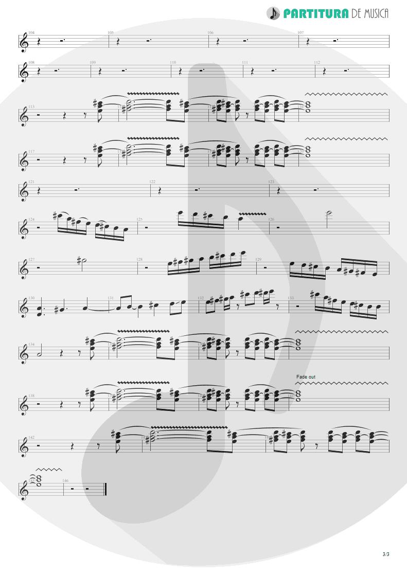 Partitura de musica de Guitarra Elétrica - A Kind Of Magic | Queen | A Kind of Magic 1986 - pag 3