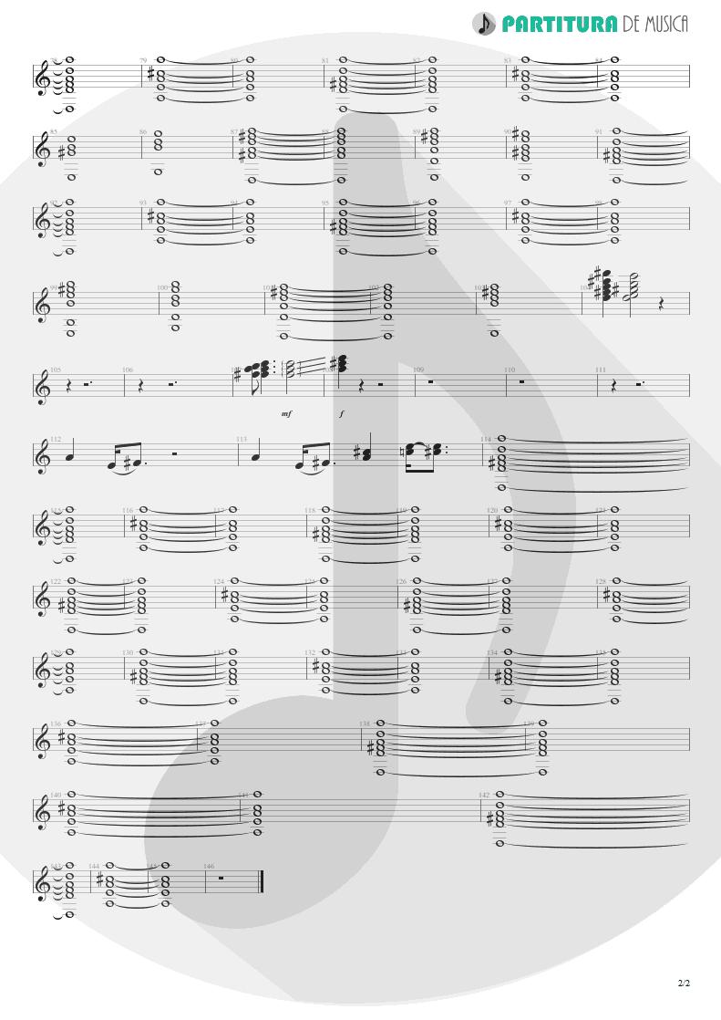 Partitura de musica de Teclado - A Kind Of Magic | Queen | A Kind of Magic 1986 - pag 2