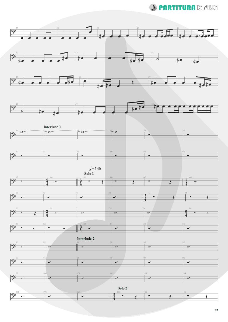 Partitura de musica de Baixo Elétrico - Innuendo | Queen | Innuendo 1991 - pag 2
