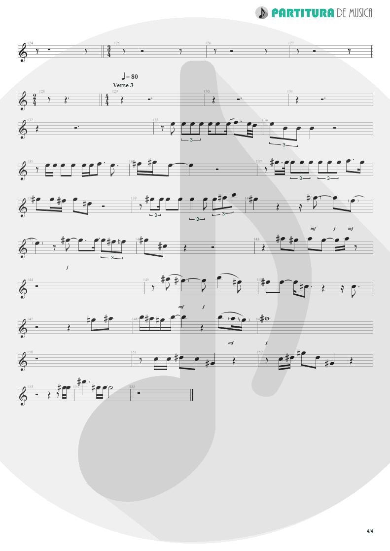 Partitura de musica de Canto - Innuendo | Queen | Innuendo 1991 - pag 4