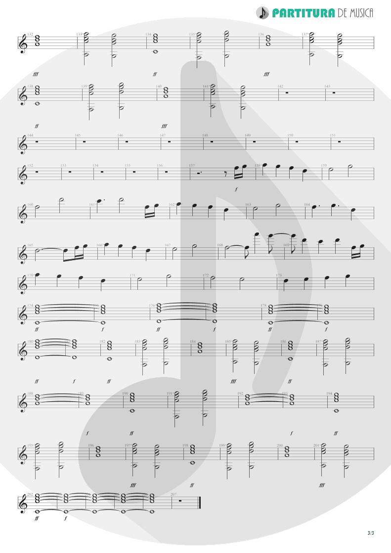 Partitura de musica de Teclado - Emotion Detector | Rush | Power Windows 1985 - pag 3