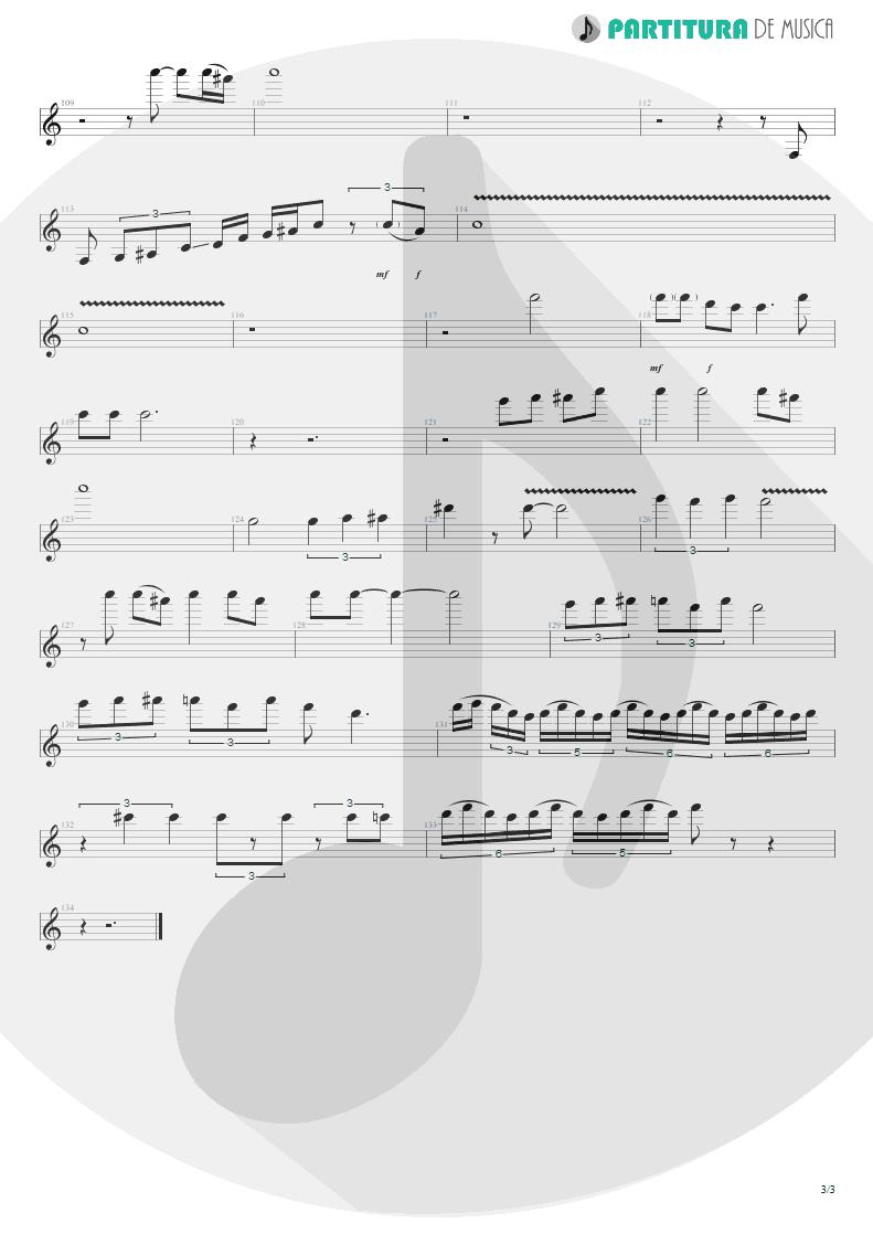 Partitura de musica de Guitarra Elétrica - Still Loving You | Scorpions | Love at First Sting 1984 - pag 3