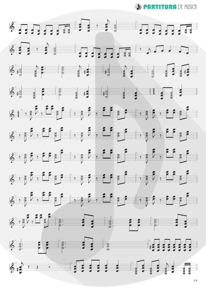 Partitura de musica de Guitarra Elétrica - Someone To Touch   Scorpions   Face the Heat 1993 - pag 3