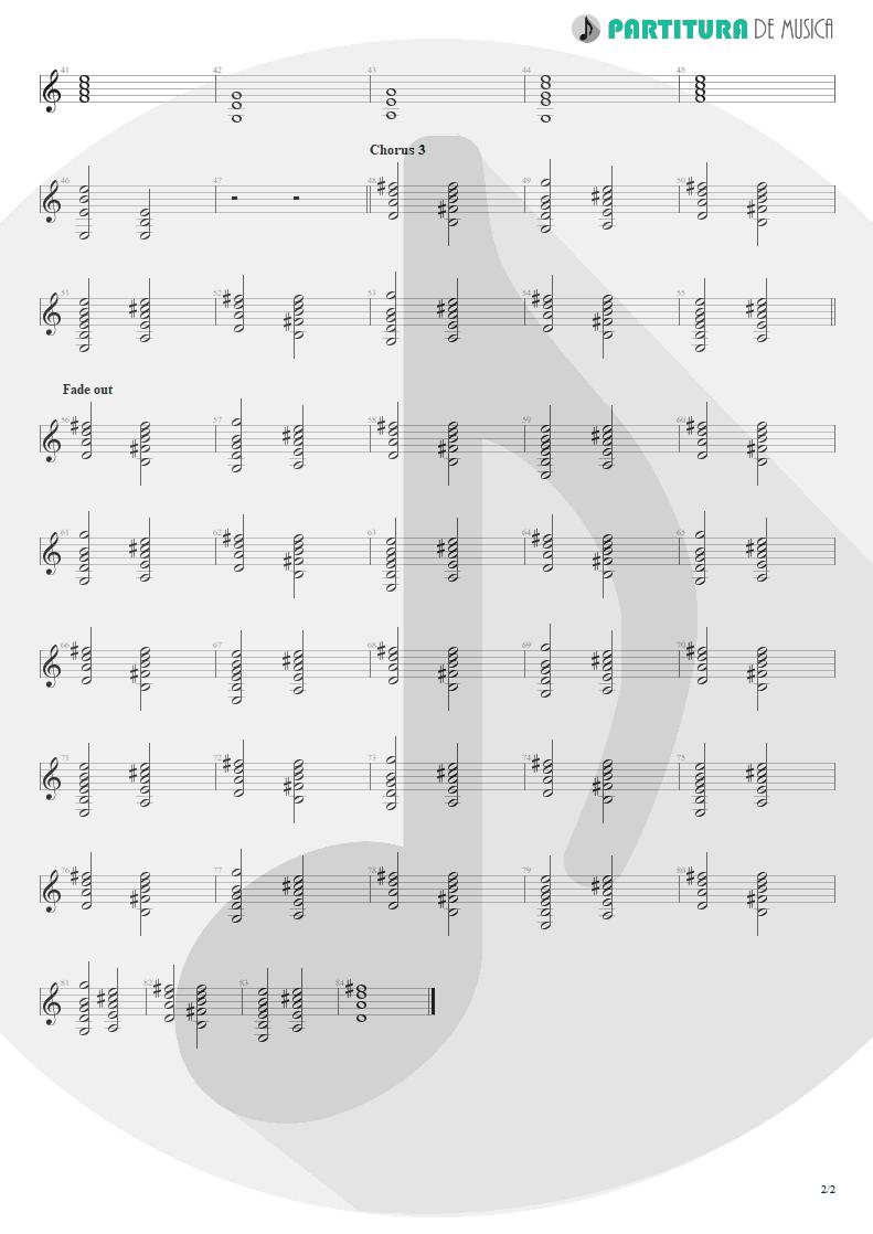 Partitura de musica de Teclado - You And I   Scorpions   Pure Instinct 1996 - pag 2