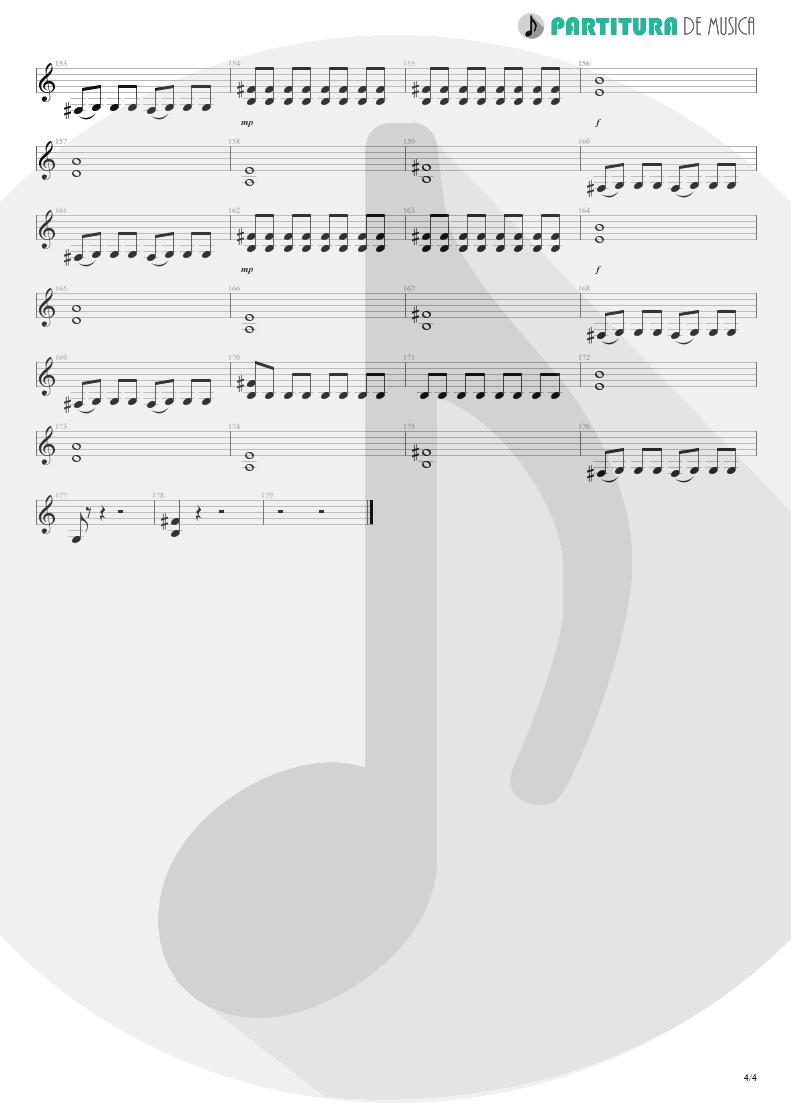 Partitura de musica de Guitarra Elétrica - Another Piece Of Meat | Scorpions | Lovedrive 1997 - pag 4