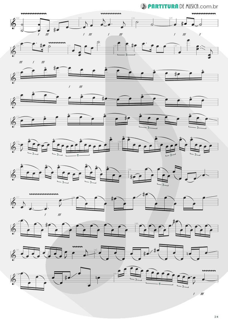 Partitura de musica de Guitarra Elétrica - Get The Hell Outta Of Here | Steve Vai | The Elusive Light and Sound Vol. 1 2002 - pag 3